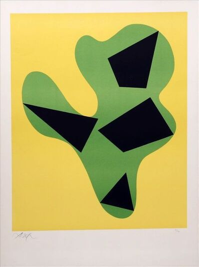 Hans Arp, 'Search for interested customers', 1962
