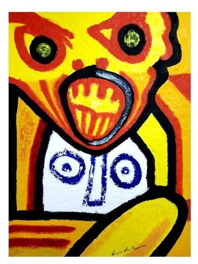 """Bengt Lindström, 'Original Etching """"Seven Deadly Sins VI"""" by Bengt Lindström', 1976"""
