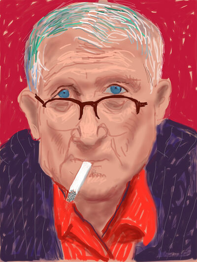 David Hockney, 'Self-portrait, 20 March 2012 (1219)', 2012