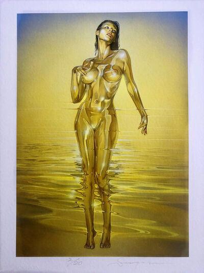 Hajime Sorayama, 'GOLD SEA', 2019