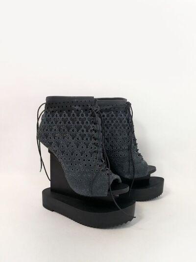 Iris van Herpen, 'Ludi Naturae Shoes grey', 2018