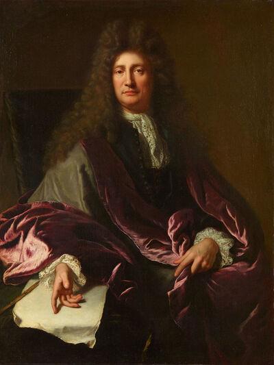 André Bouys, 'Portrait of Charles de La Fosse'