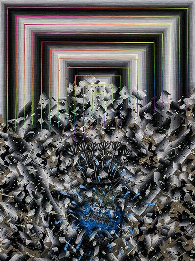 Andrew Schoultz, 'Vessel in Chaos (Broken Order)', 2014