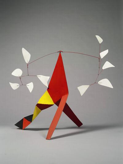 Alexander Calder, 'Five White Against Five White', 1973