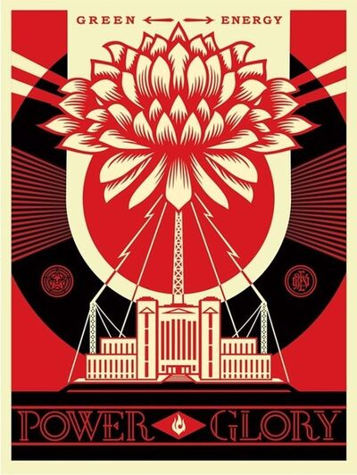 Shepard Fairey, 'Power & Glory ', 2014