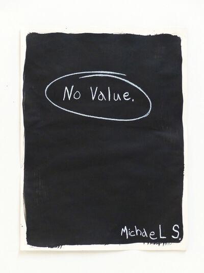 Michael Scoggins, 'No Value', 2014