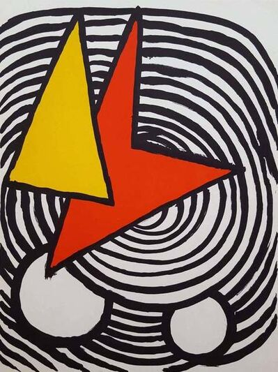 Alexander Calder, 'Lithograph', 1973