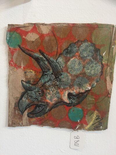 Matt Bagley, 'Triceratops Moses 2/3', 2019