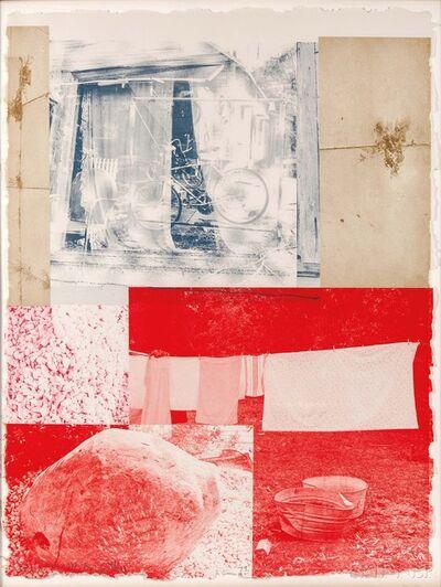 Robert Rauschenberg, 'Rose Bay', 1979