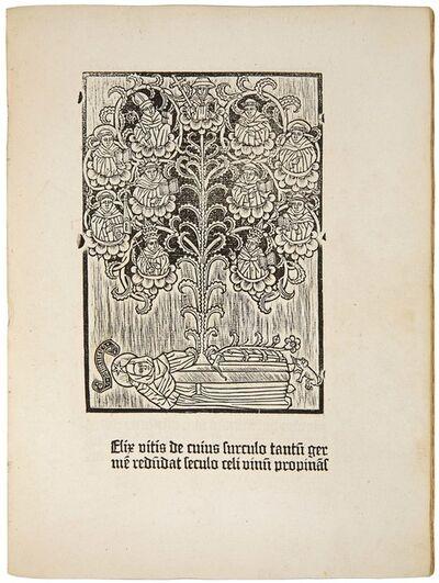 Anonymous, 'Johannes de Turrecremata: 'Meditationes seu contemplationes devotissimae'', ca. 1479