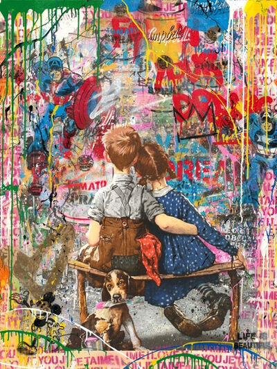 Mr. Brainwash, 'Work Well Together', 2018