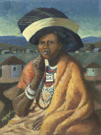 George Pemba, ''Xhosa woman'', 1975