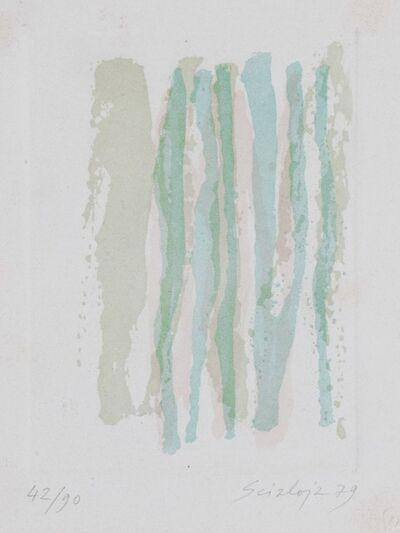 Toti Scialoja, 'Green', 1979
