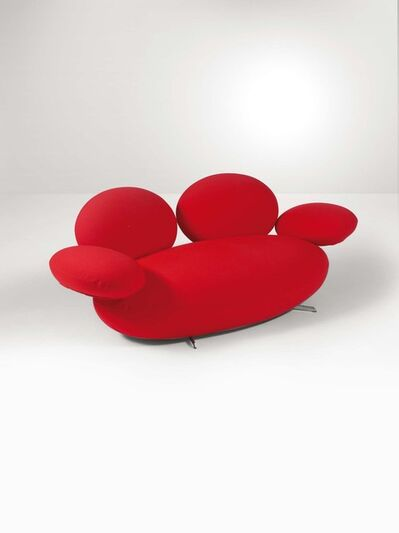 Matteo Thun, 'A Supersassi sofa with a tubular metal structure and fabric upholstery', 2000 ca.