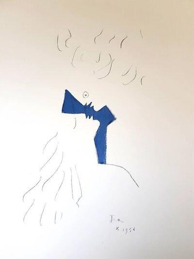 """Jean Cocteau, 'Original Lithograph """"Lovers"""" by Jean Cocteau', 1954"""