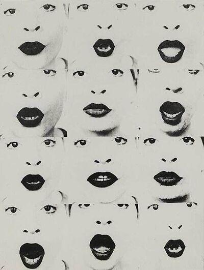 """Natalia Lach-Lachowicz, '""""Stowo"""" [Word]', 1971"""