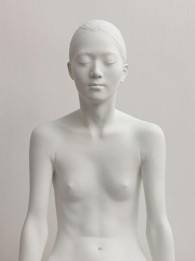Don Brown, 'Yoko X. Sitting (face on)', 2015