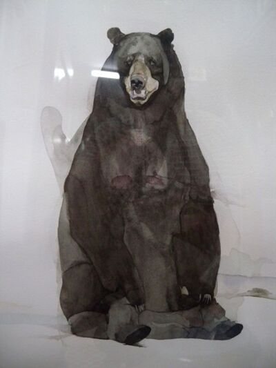 Halley Cheng, 'Bear with Broken Lungs 爆肺的熊', 2010