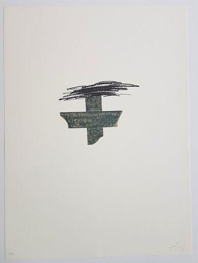 Antoni Tapies, 'Llambrec-1', 1975