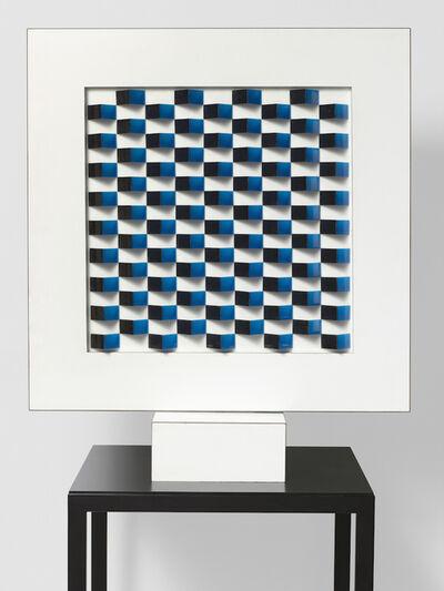 Lillian Florsheim, 'Black, Blue and Red', 1965