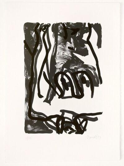 Georg Baselitz, 'Rose', 1993
