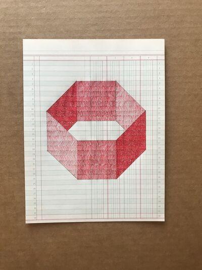 Albert Chamillard, 'Red Hexagon', 2018