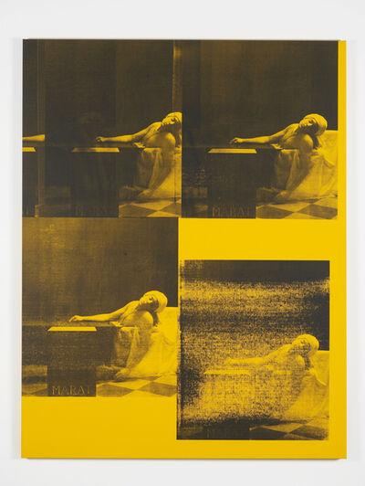 Gavin Turk, 'Marat Yellow', 2016