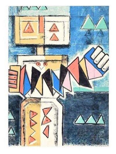 Ibrahim Kodra, 'Accordion', 1975