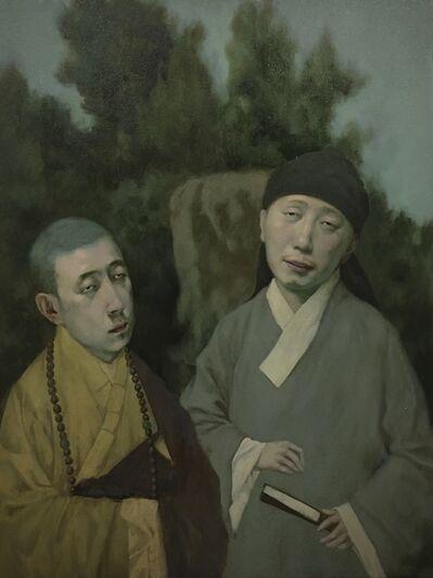 Jeffrey Chong Wang, 'March', 2021