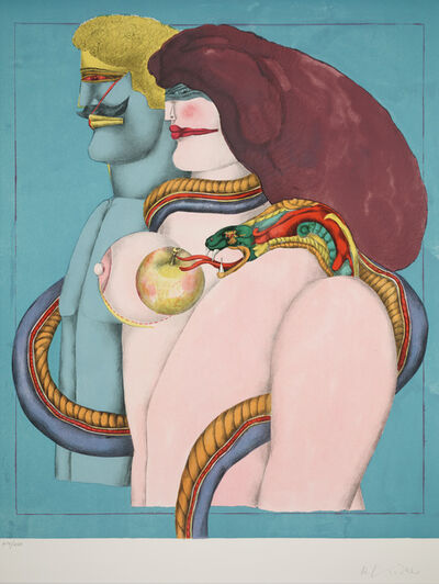 Richard Lindner, 'How It All Began from After Noon', 1974