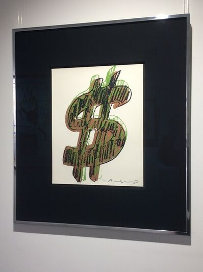 Andy Warhol, '$ (1) (F&S IIA.274-279) UNIQUE', 1982