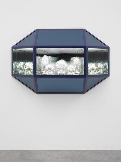 Josiah McElheny, 'Crystal Landscape Painting (Sentinels)', 2017