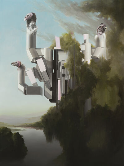Sam Leach, 'landscapes and medical robots', 2020