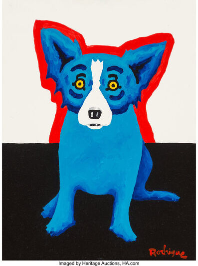 George Rodrigue, 'The Only One', 2000