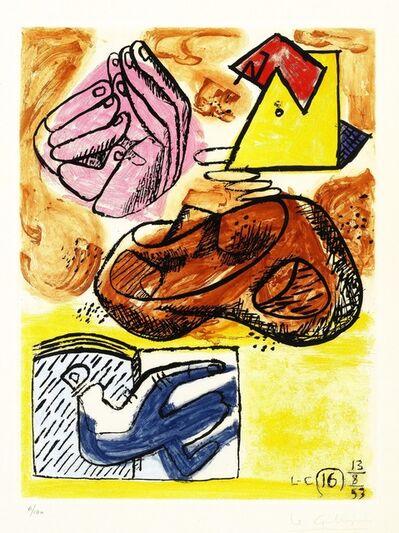 Le Corbusier, 'Unité XVI, from the Unité portfolio', 1953