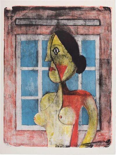 Rufino Tamayo, 'Portrait De Femme (Pereda 105)', 1969