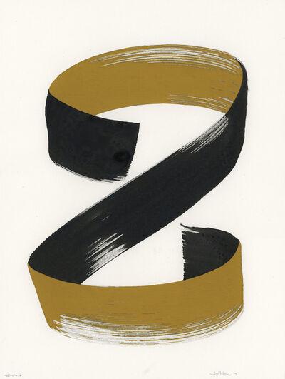 Clint Fulkerson, 'Stroke 3 (yellow)', 2019