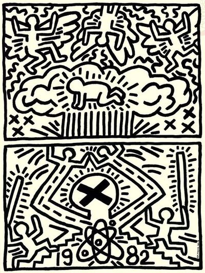 Keith Haring, 'Poster for Nuclear Disarmament', (Date unknown)