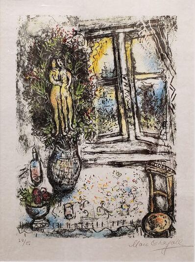Marc Chagall, 'La Fenêtre Entrouvert ', 1975
