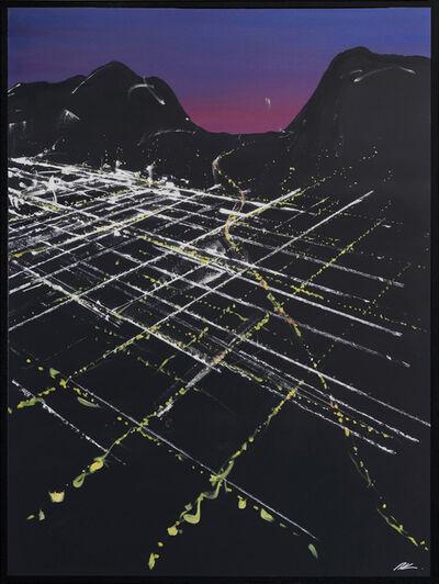 Pete Kasprzak, 'Gower Sunset Aerial', 2019