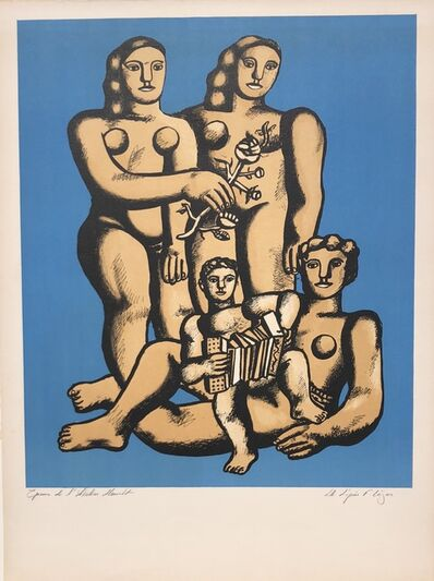 Fernand Léger, 'The Accordionists's Family', 1950