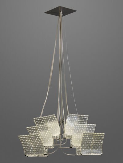 Ingo Maurer Studio, ''LED Canvas', a unique ceiling light', 2013
