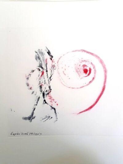 """Henri Michaux, 'Original Aquatint """"Moments"""" after Henri Michaux', 1996"""