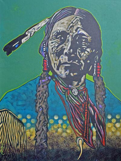 """Nocona Burgess, '""""Arko - Comanche""""', 2019"""