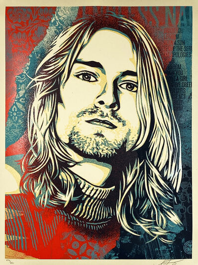 Shepard Fairey, ''Kurt Cobain: Endless Nameless'', 2021
