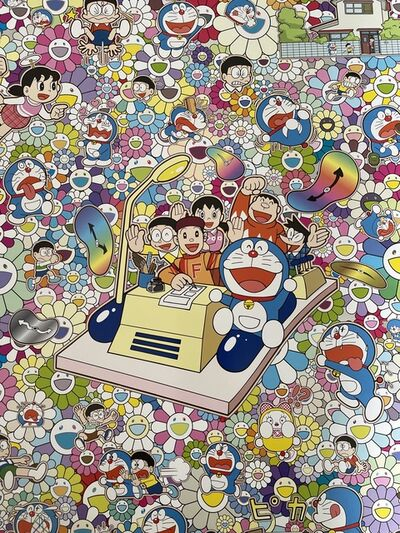 Takashi Murakami, 'ON AN ENDLESS JOURNEY ON A TIME MACHINE ', 2018