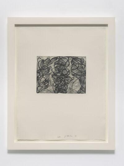 Brice Marden, 'After Botticelli 5', 1992-93