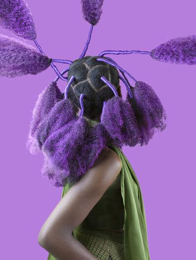 Medina Dugger, 'Purple Kinky Calabar', 2017