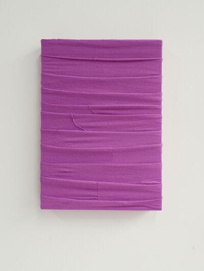 Angela de la Cruz, 'Monochrome (Purple)', 2020