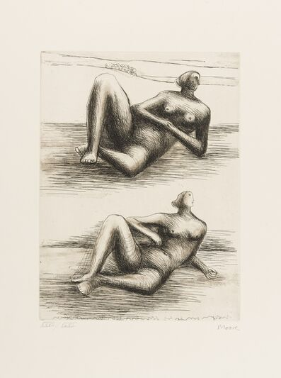 Henry Moore, 'Two Reclining Figures (Cramer 467)', 1977/78